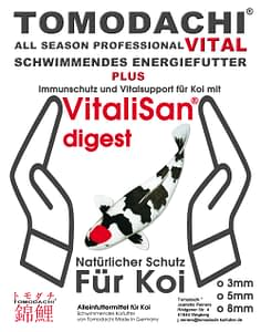 Gesundheitsfutter für Koi Tomodachi All Season Professional Vital