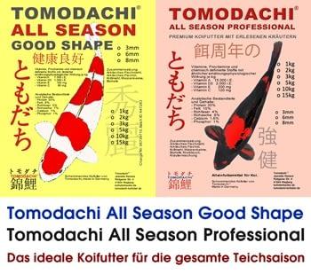 Koifutter von Tomodachi All Season und All Season Professional preiswert, gut und gesund.