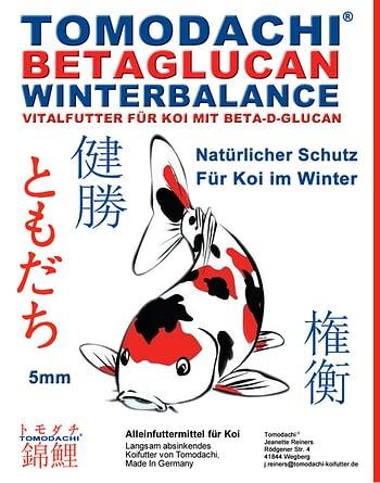 Gesundheitsfutter und Heilfutter für Koi mit Betaglucan - Sinkfutter für Koi im Winter mit Immunschutz