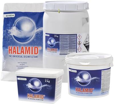 Halamid - das Original von Axcentive gegen Viren, Bakterien und Pilze im Koiteich und am Koi kaufen Sie günstig bei Tomodachi